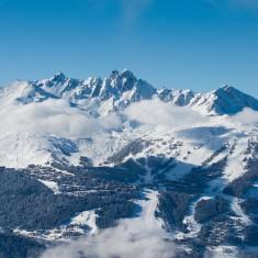 Courchevel Mountains