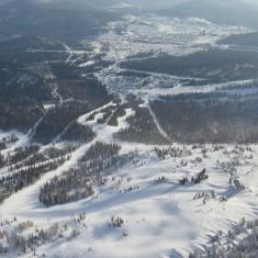 Sheregesh Mountain